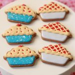 Cherry Pie Decorated Cookies on Sweetopia