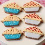 Cherry Pie Decorated Cookies on Sweetopia