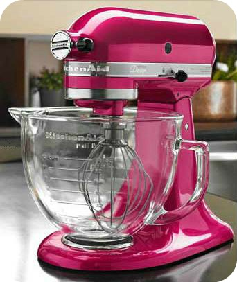 Raspberry Ice Kitchenaid Stand Mixer Giveaway! | Sweetopia