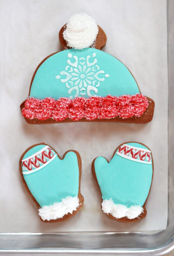 If ... & Winter Hat and Mitten Decorated Cookies | Sweetopia