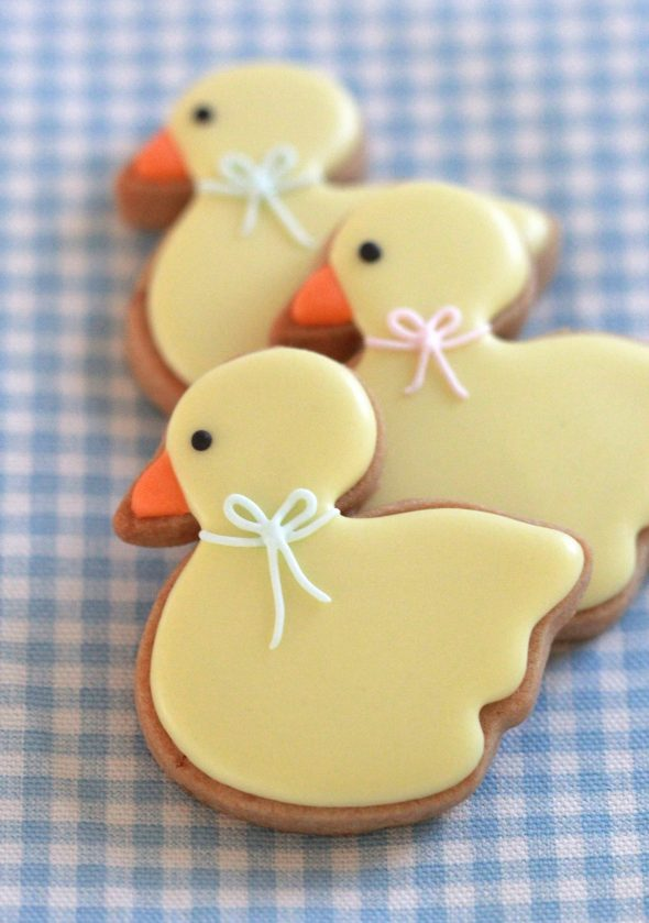 Brown Sugar Cookie Recipe & {Baby Duck Cookie How-To}