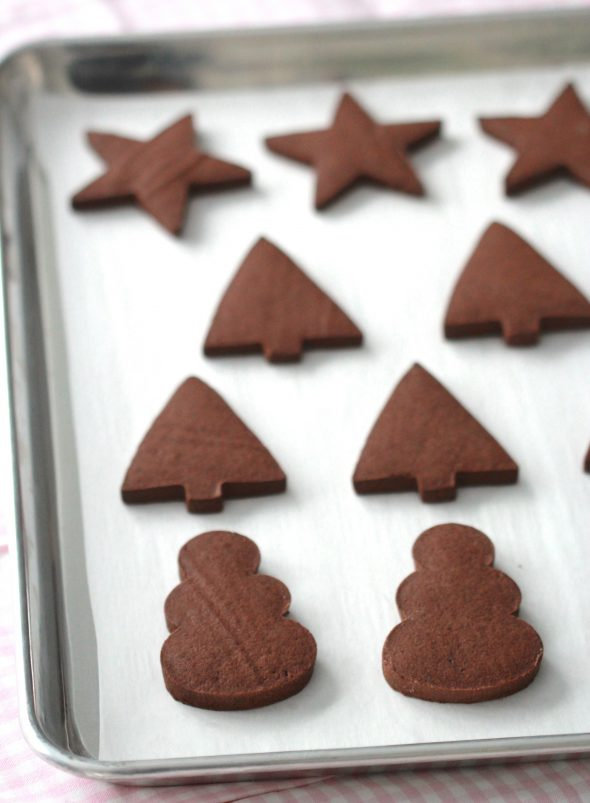 Chocolate Sugar Cookie Recipe | Sweetopia