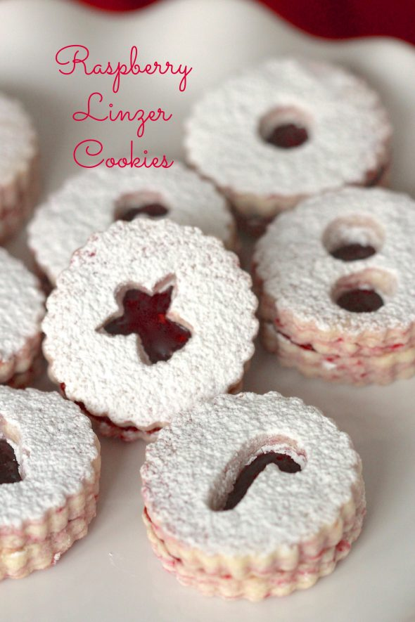 Raspberry Linzer Cookies | Sweetopia
