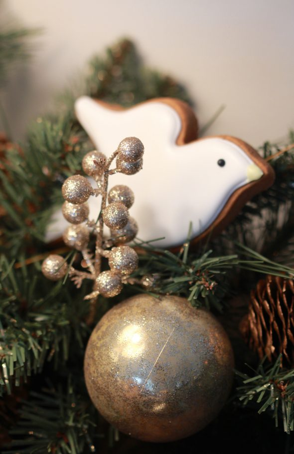 Dove Decorated Cookies & Holiday Decorating