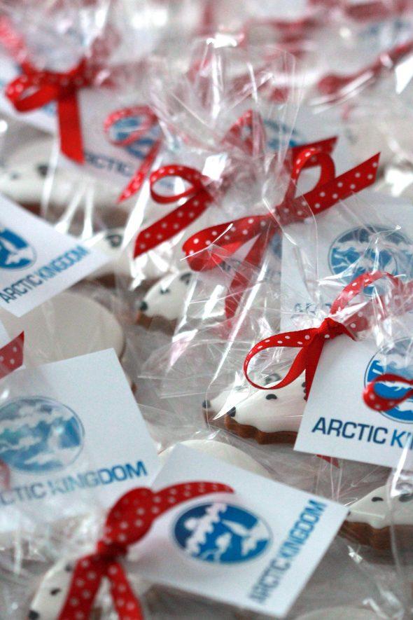Polar Bear Decorated Cookies Sweetopia