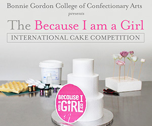 Bonnie Gordon College - Because I am a girl international cake competition
