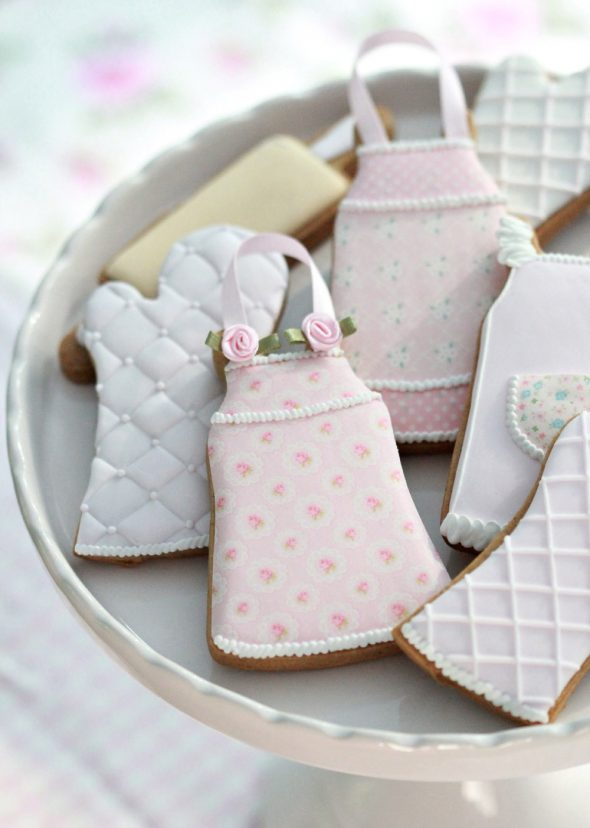 Baking and Kitchen Themed Decorated Cookies