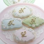 lettered cookies  sweetopia