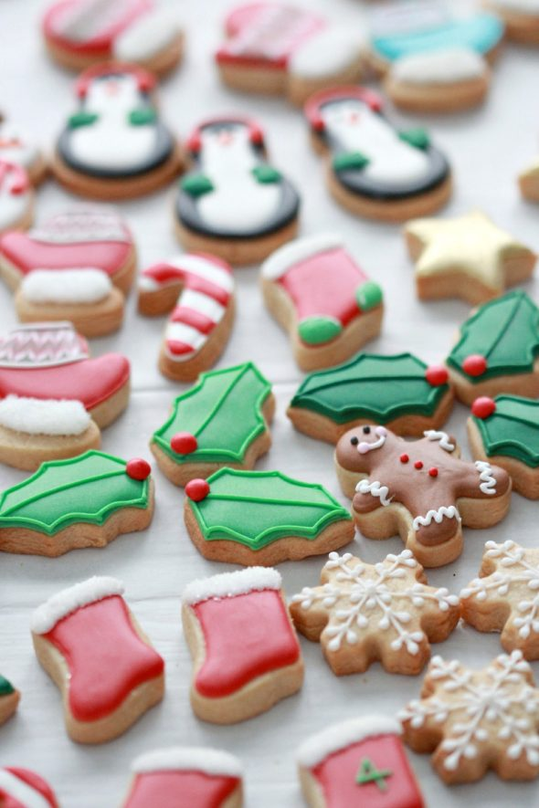 Mini Advent Calendar Cookies | Sweetopia