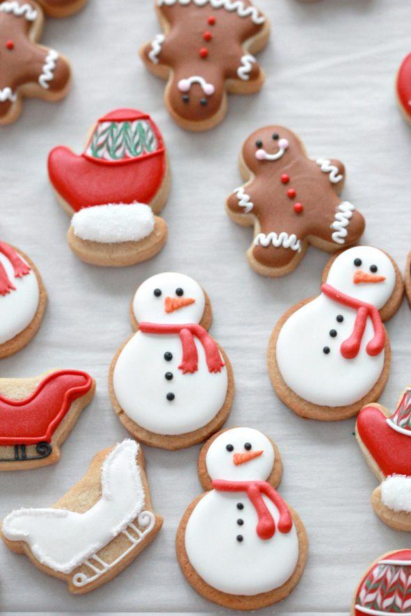 Mini Advent Calendar Cookies Sweetopia
