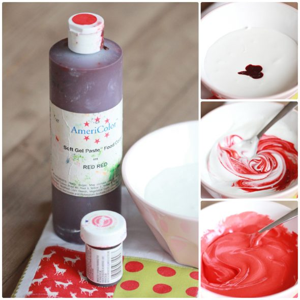 How to Color Icing Red | Sweetopia