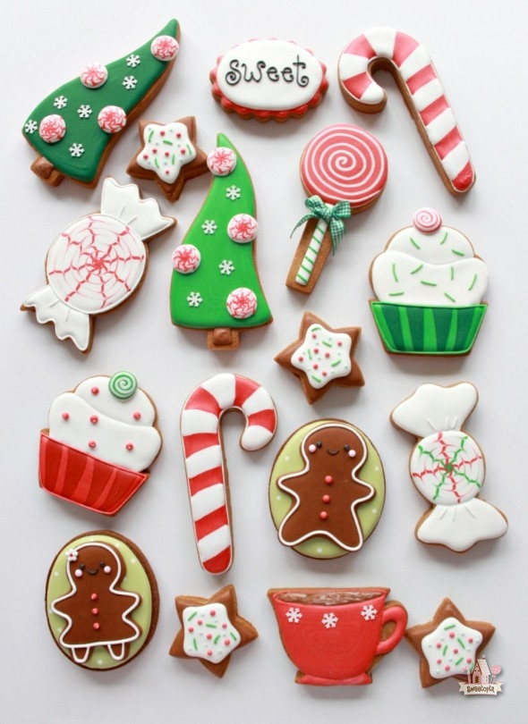 pin it while posting christmas cookies
