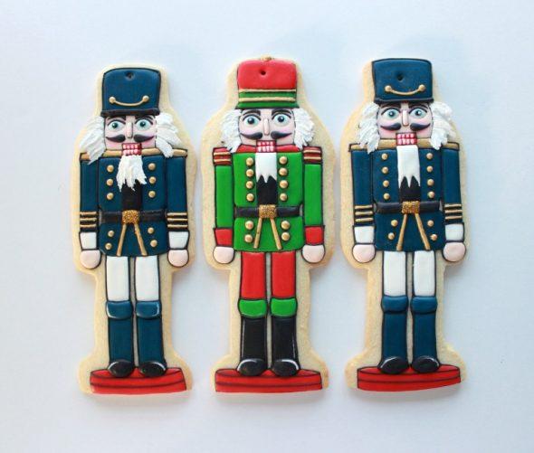 {Video} Nutcracker Decorated Cookies