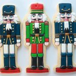 Nutcracker Ornament Cookies ~ Sweetopia