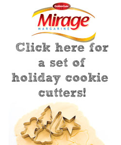 Mirage Margarine Cookie Contest