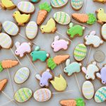 Mini Easter Decorated Cookies