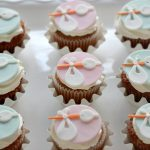 stork cupcake toppers for baby shower