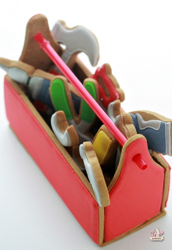 Tool Cookie Cutter Tool Box Cookie Cutter