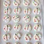 Art Palette Cookies on Sweetopia