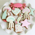 Summer Seaside Decorated Cookies ~ Sweetopia