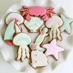 Summer Seaside Decorated Cookies ~ Sweetopia