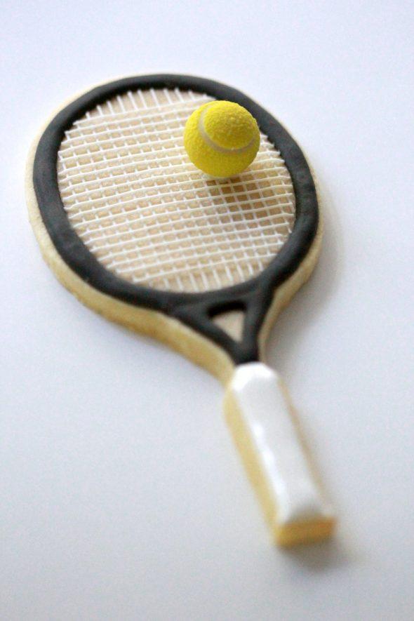 Tennis Racket Cookies