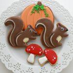 Fall Squirrel Cookies _ Sweetopia