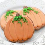 Pumpkin Decorated Cookies