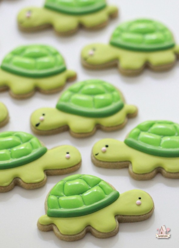 Video How to Make Turtle Cookies Sweetopia