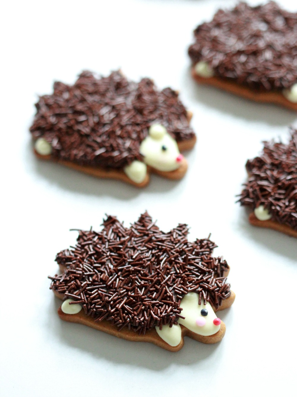 Video How To Decorate Hedgehog Cookies Sweetopia