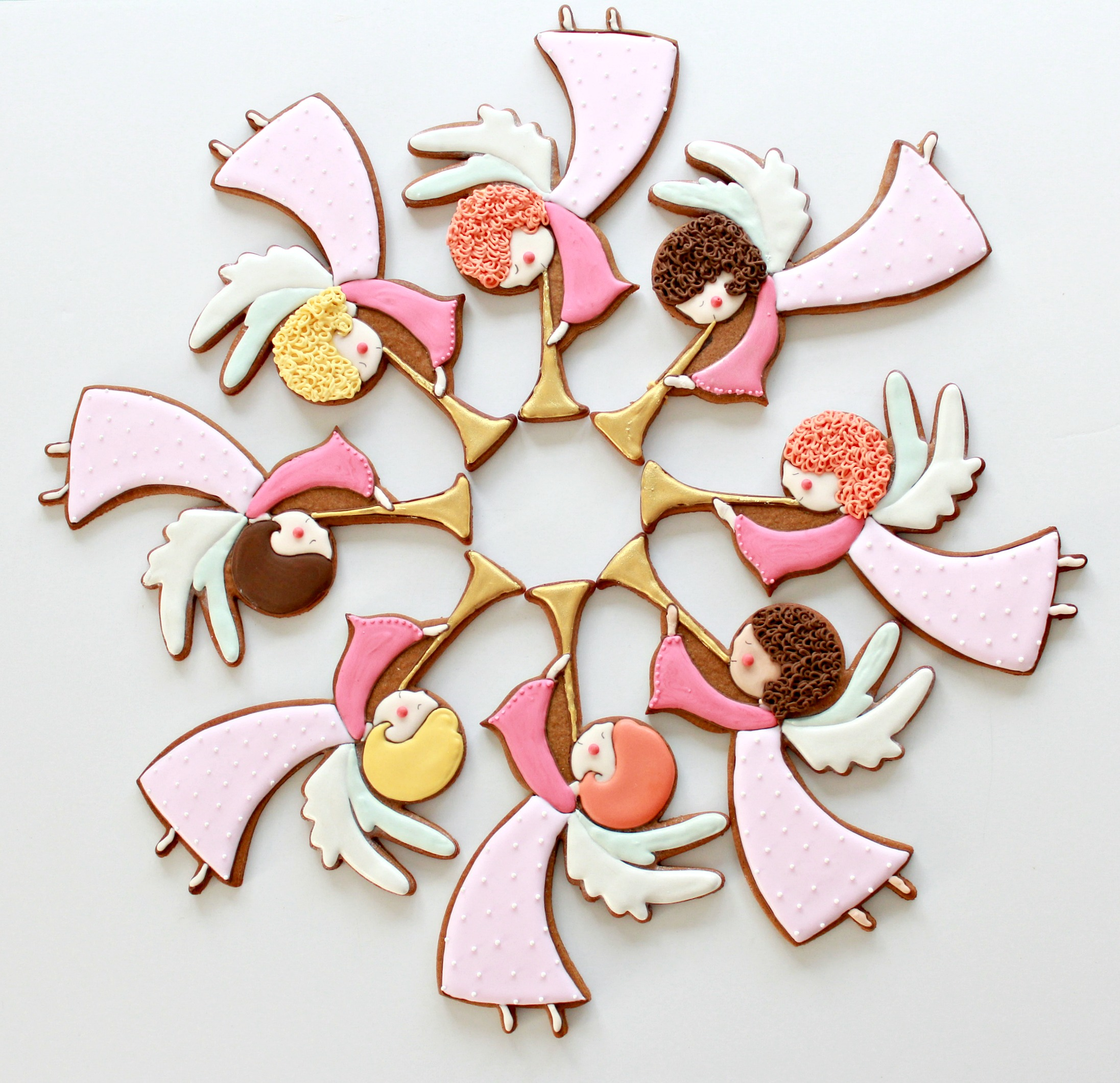 Video How To Decorate Angel Cookies With Royal Icing Sweetopia