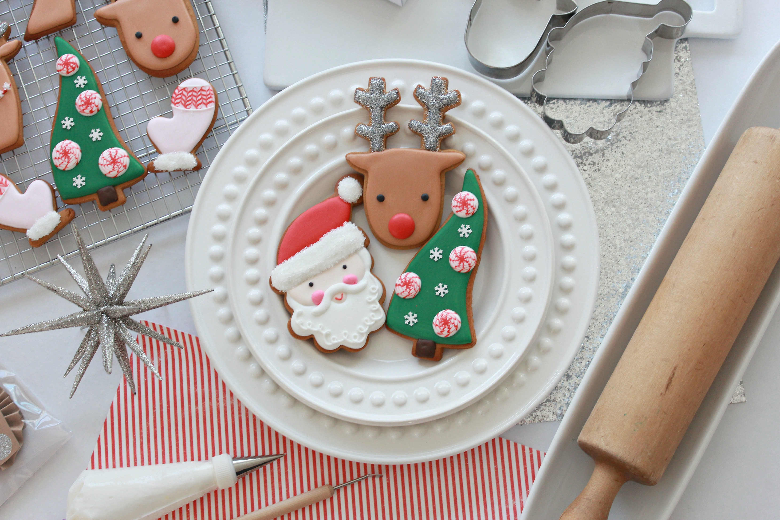 Video How To Decorate Christmas Cookies Simple Designs For