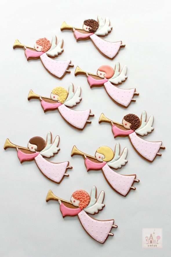 Video How To Decorate Angel Cookies With Royal Icing