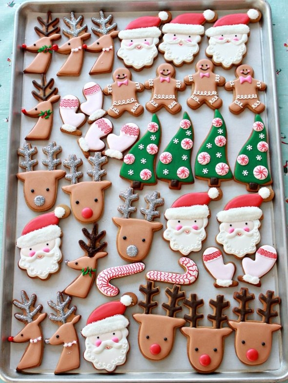 Christmas Cookie Decorating Ideas.Video How To Decorate Christmas Cookies Simple Designs