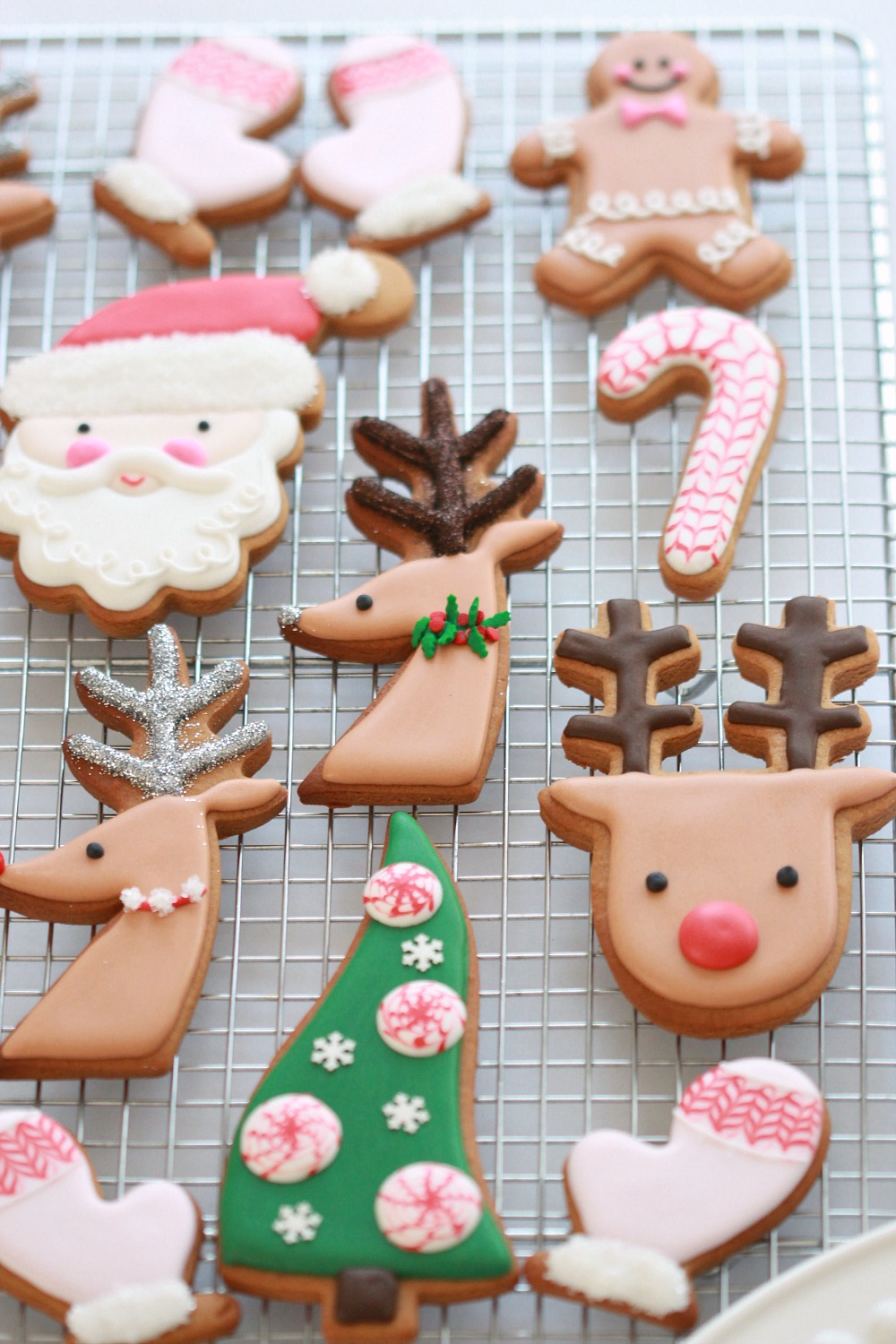 video tutorial decorated christmas cookies - How To Decorate Christmas Cookies