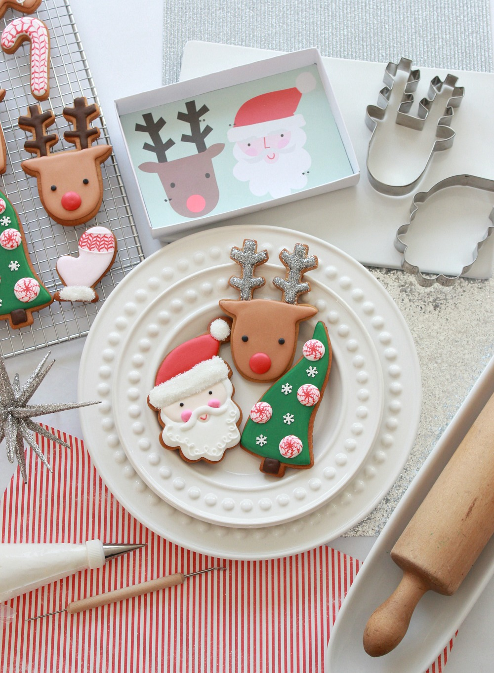 video tutorial how to decorate christmas cookies