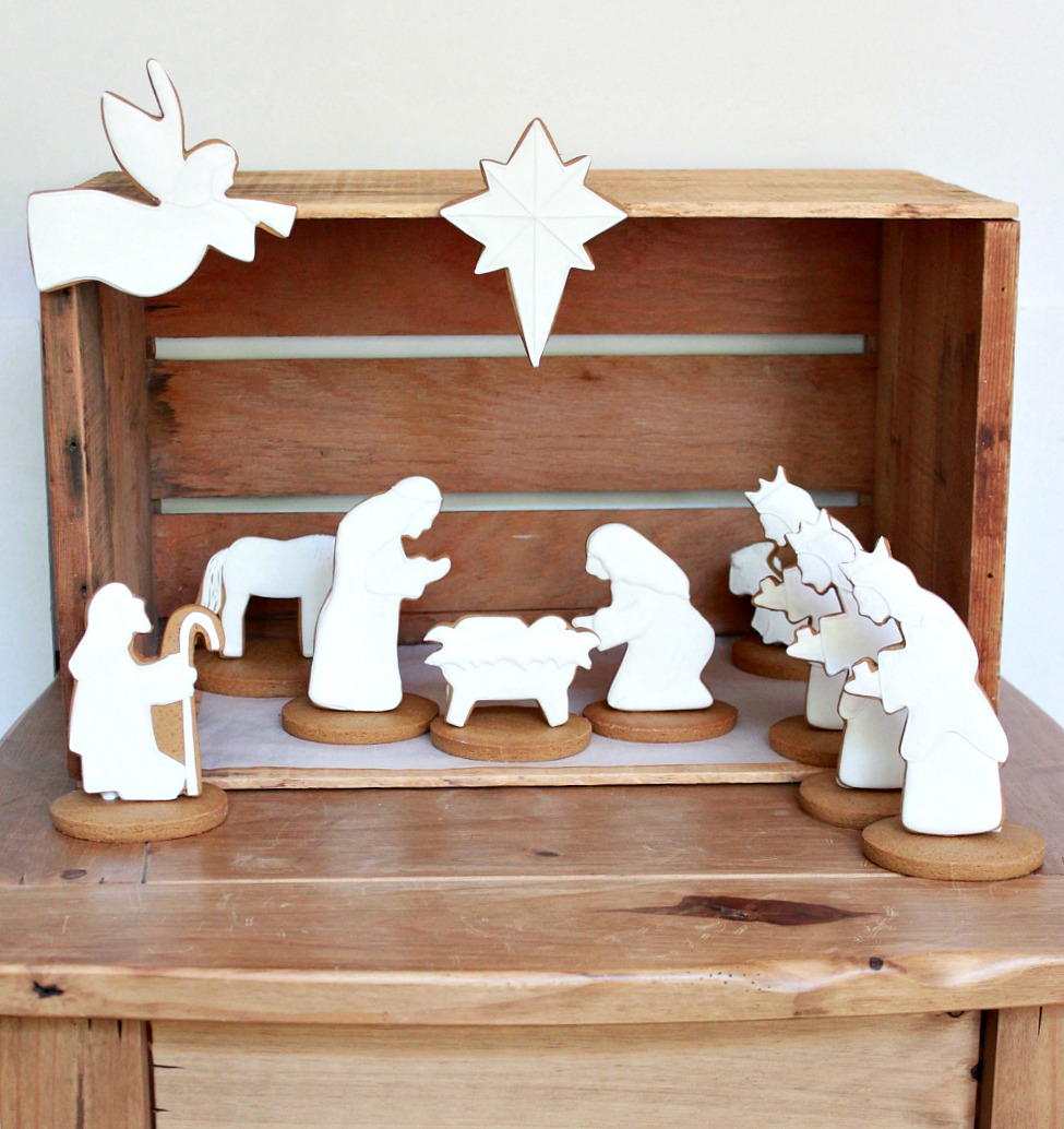Nativity Decorated Cookies Sweetopia