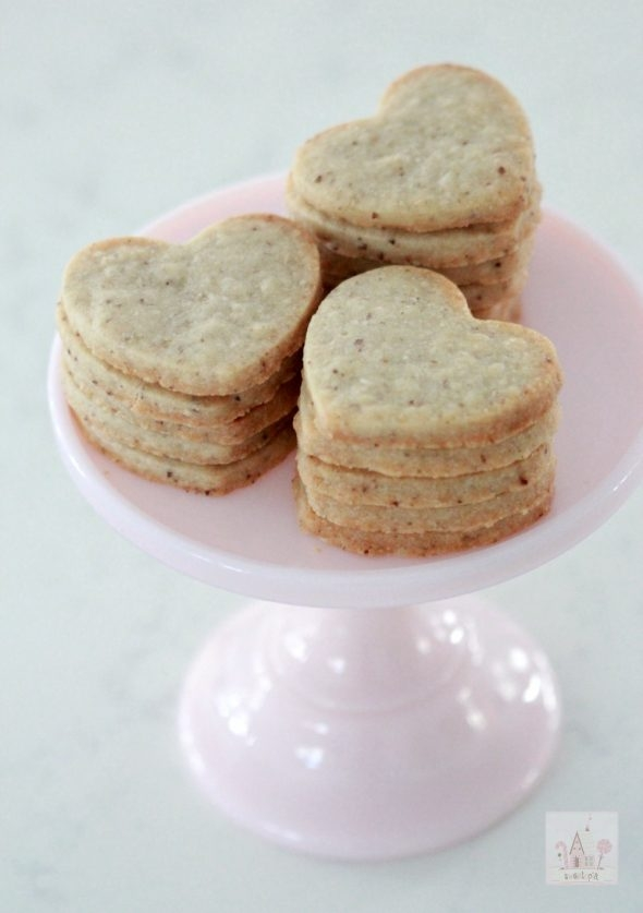 Vegan Almond Sugar Cookies