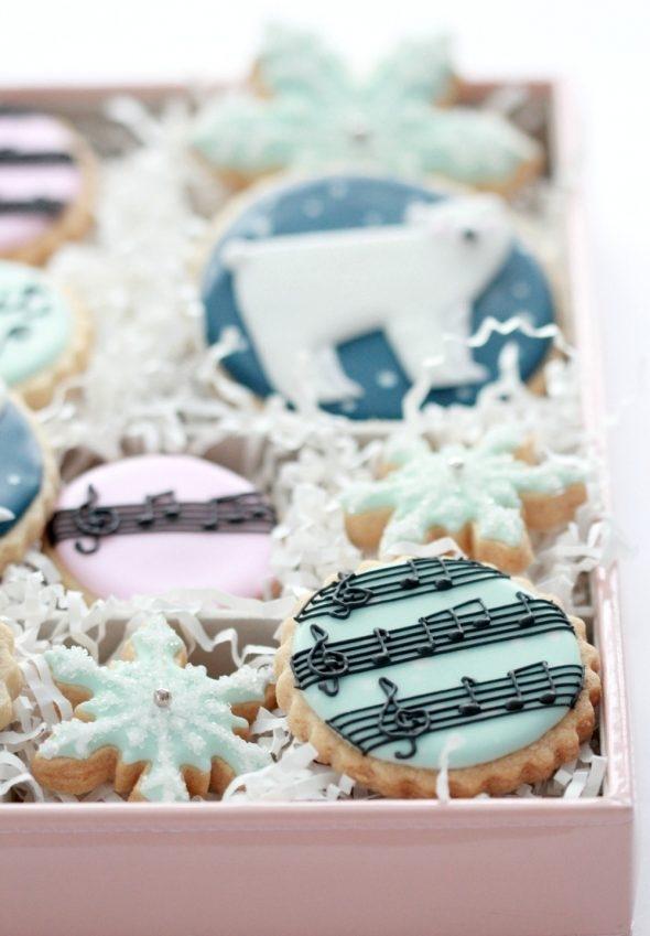 Winter Cookies Sweetopia