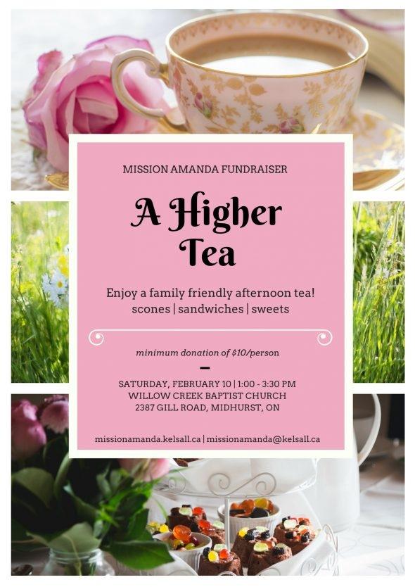 Higher Tea Poster