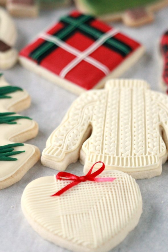 Christmas Decorated Cookies