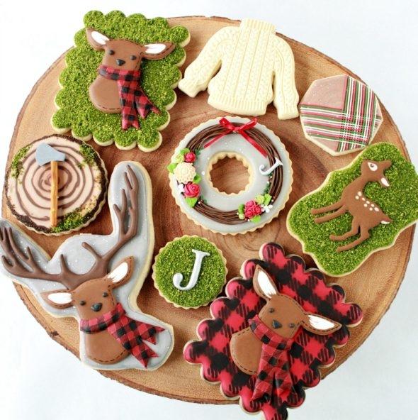 Christmas Deer Cookies
