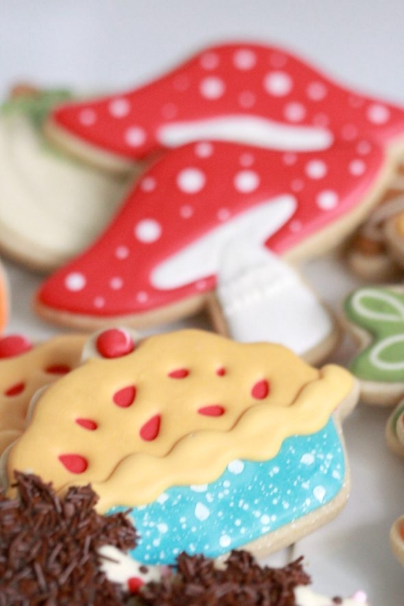 Pie Decorated Cookie Sweetopia