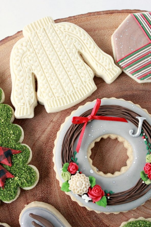 Sweater Decorated Cookie