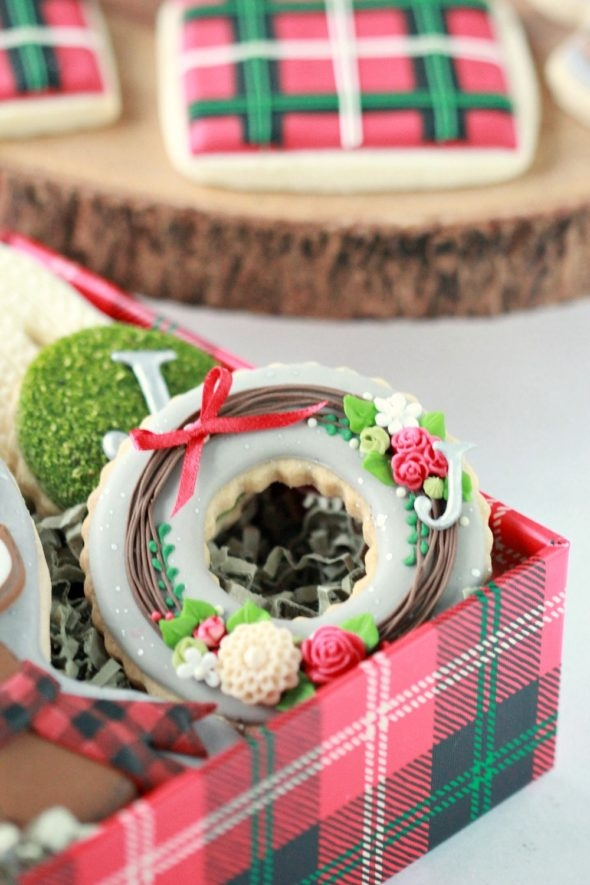 Wreath Christmas Cookie
