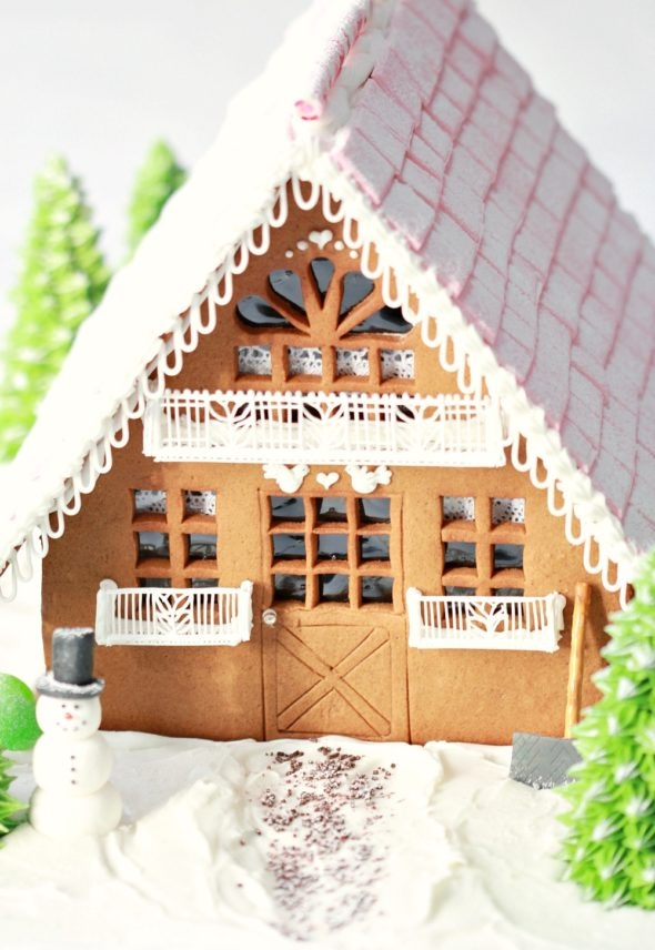 Christmas Gingerbread Chalet