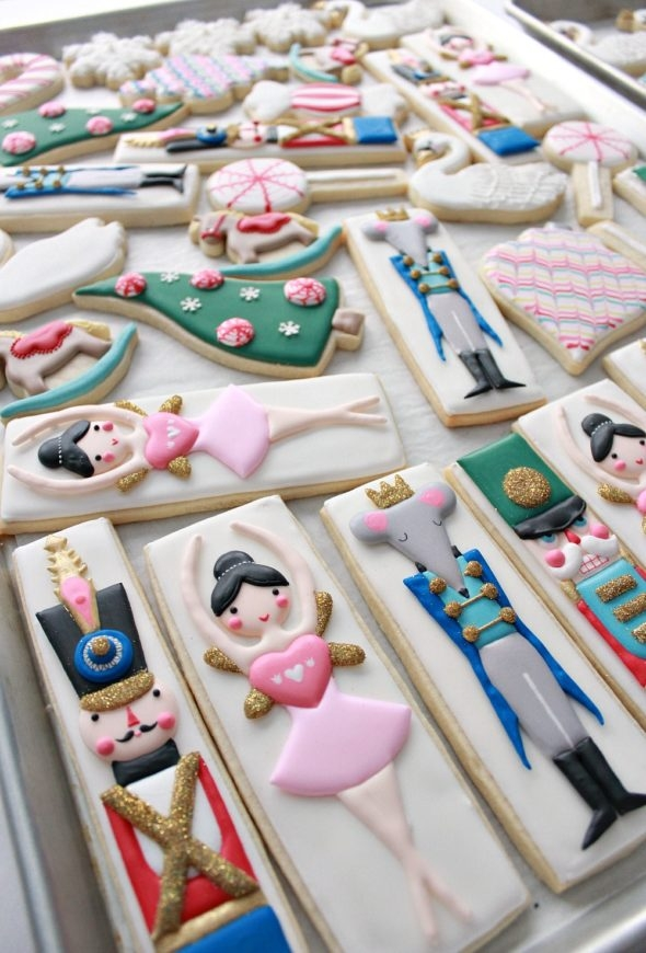 Decorated Nutcracker Cookies