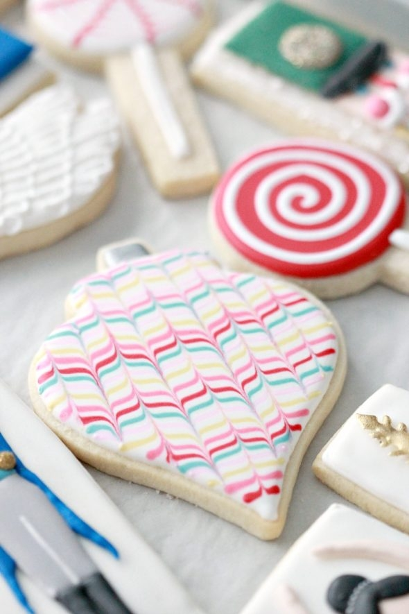 Marble Cookie Decorating