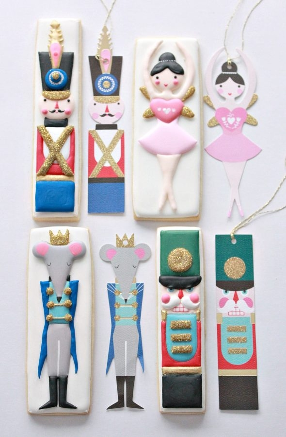 Meri Meri Nutcracker Gift Tags and Sweetopia Decorated Cookies