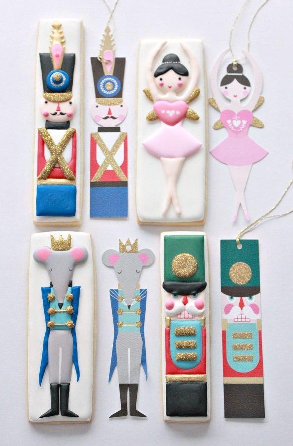 Meri Meri Nutcracker Gift Tags and Sweetopia Decorated Cookies